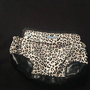 Vintage Miche petite Skylar leopard shell
